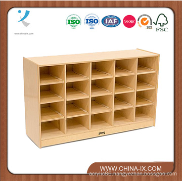 Floor Standing Storage Unit with 20 Cubbies