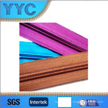 Hot Sale 5 # Nylon Long Chain Zipper Nylon Roll Zipper