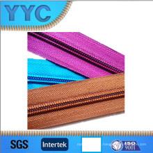 Hot Sales 5 # Nylon Cadeia Larga Zipper Nylon Roll Zipper