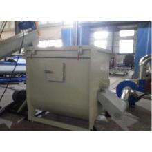 Kunststoff-Folie waschen, Zerkleinern, trocknen, Recyclinganlage