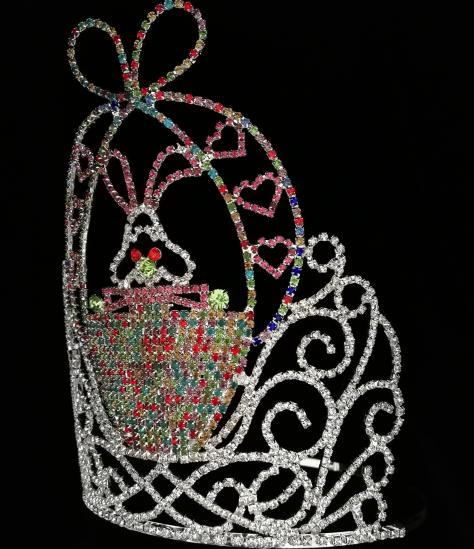 rhinestone easter tiara