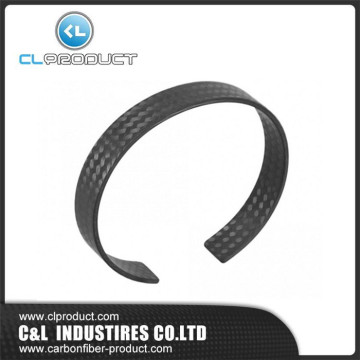 Popular Black Carbon Fiber Wedding Band Rings