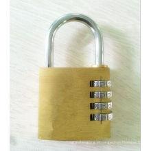 40 milímetros de bronze bloqueio de combinação cadeado 4 discagem código de bloqueio (110406)
