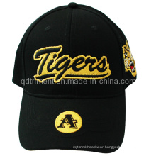 Constructed Brushed Cotton Twill Print Embroidery Baseball Cap (TMB9580)