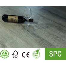 Piso de aspecto de madera impermeable LVT SPC