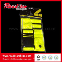 Height reflective safety belt