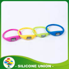Personalized colouful Energy Silicone Bracelet Watches