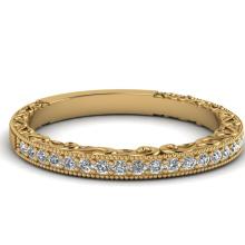 Jóias de moda Prata Banda Casamento Jóias de Prata Banhado a Ouro