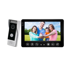 """Simple 7"""" Color Screen Video Door Phone Support SD Card"""