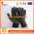 Nylon/Polyester Liner Latex Crinkle Gloves (DNL119)