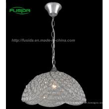 Lampe pendentif en cristal à main / lumière (D-9331 / 1B)