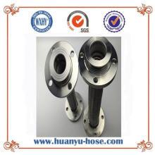 Manguera de metal flexible de conexión de brida