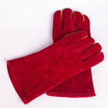 Wholesale Cheap Cowhide Split   Leather  working safety driving gloves  welding