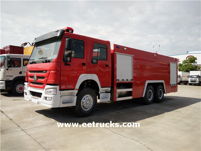 HOWO Fire Fighting Vehicles