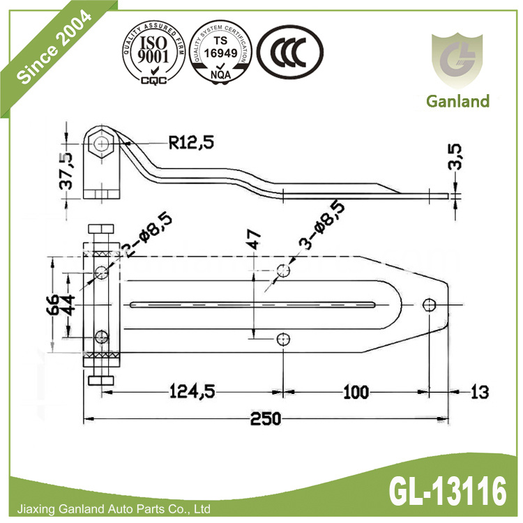 Side Swing Door Hinge gl-13116