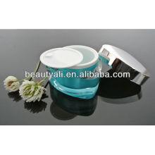 15g, 30g, 50g triángulo en forma de acrílico crema cosmético contenedor