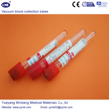Vacuum Blood Collection Tubes Plain Tube (ENK-CXG-012)