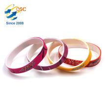 Fashion custom logo Popular wrist band