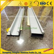 Profilé en aluminium enduit de Pwoder pour la poignée de coffret / armoire de cuisine