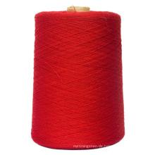 Gefärbtes gesponnenes Polyester-Garn