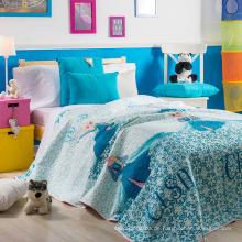 Kundenspezifische bedruckte Bettwäsche-Set mit günstigen Preis