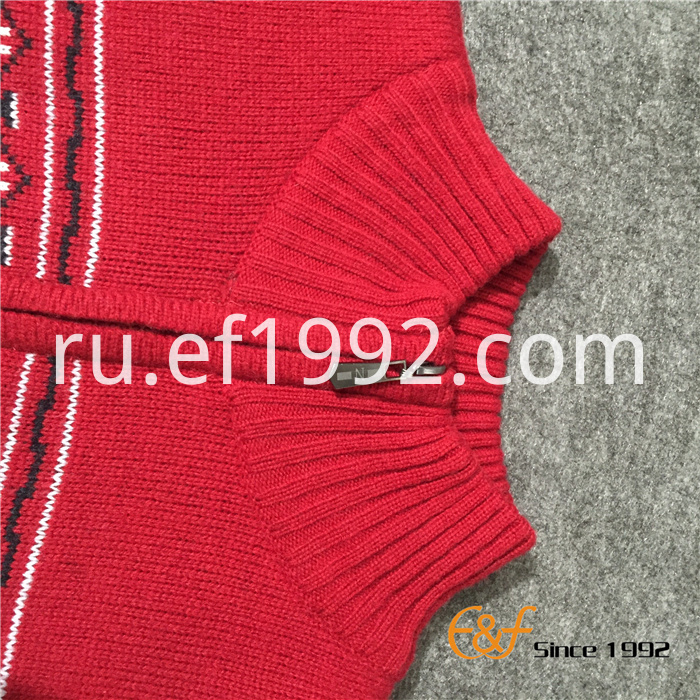 3-colour Jacquard Sweater