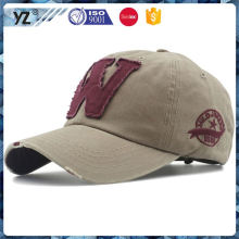 Latest arrival special design mens cotton baseball caps from manufacturer
