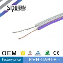 SIPUO alta calidad RVH fábrica precio RVH, cable de parlante de sonido cable 2,5 mm