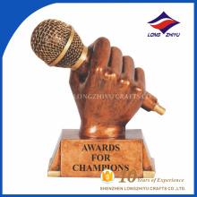 American Idol trofeo de la concesión, trofeo de la concesión de la música