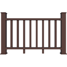 New generation professional WPC deck Railing