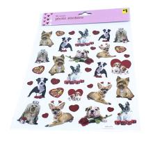 Haute qualité mignon chien mini papier autocollant décoration DIY album journal scrapbooking étiquette étiquette autocollant kawaii papeterie étiquette autocollants