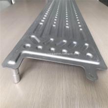 desarrollo de diseño de placa de enfriamiento de batería de litio de aluminio