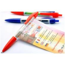 Customized Advertising Plastic Ball-Point Pen, Brush Pen, Banner Pen Printing