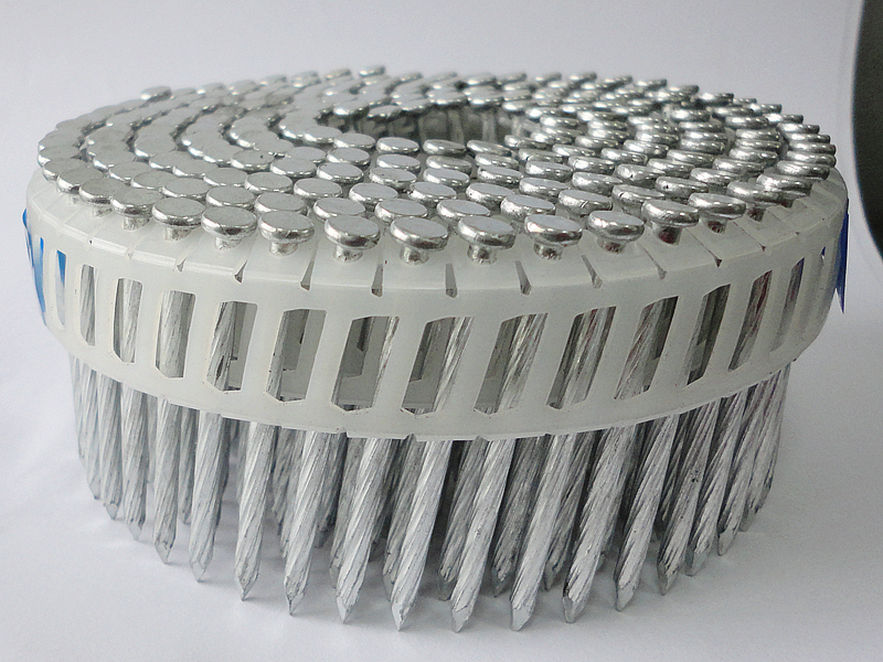 Plastic-coil-nails