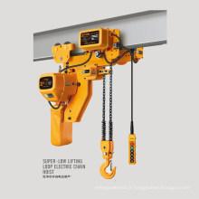 Palan à chaîne électrique industriel de 5 tonnes