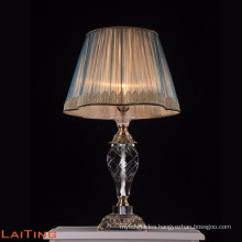 Tiffany crystal chandelier brass table lamp led desk light 2285