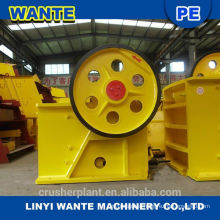 Reliable high efficiency jaw crusher for rock stone ore machinery group