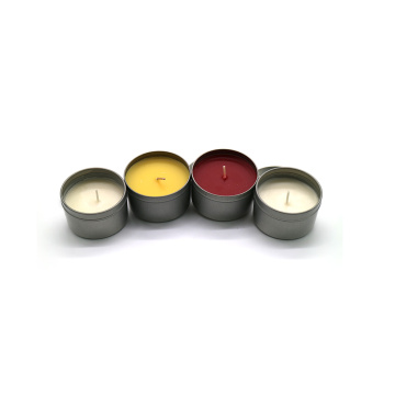 Flameless tea lights / hiasan diyas timah lilin