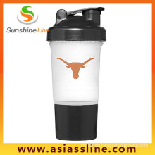 2 In1 600ml Shaker Bottle