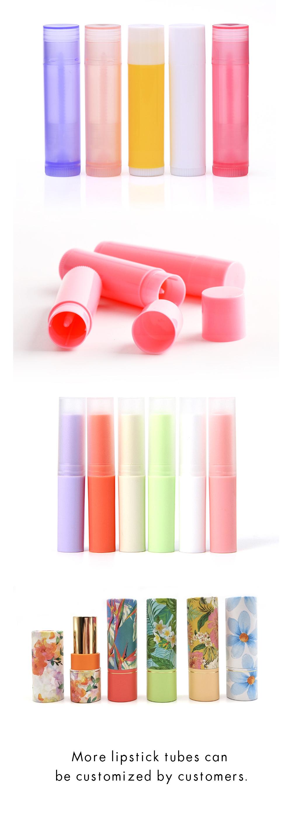 Lip balm tube customization