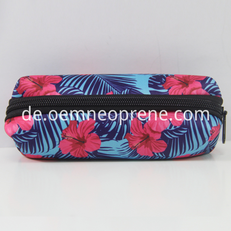 pattern printed pencil case