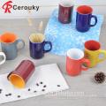 Новая кость фарфора суп кружка, различный размер керамический кружка супа и чашки