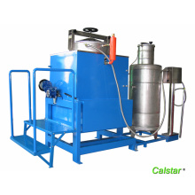 Liquid crystal screen solvent recovery machine
