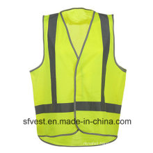 High Visibility Reflective Safety Breathable Vest with AS/NZS