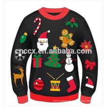 15CSU052 2017 feia festa natalícia malha camisola de natal