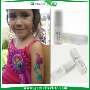 2015 getbetterlife professionnel imperméable à l'eau colle paillettes tatouage corporel tatouage tatouage colle colle gel pour le Body Art temporaire