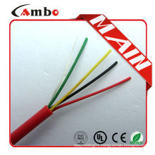 Free samples 1000ft Red Solid Copper FPL FPLR anti fire alarm cable