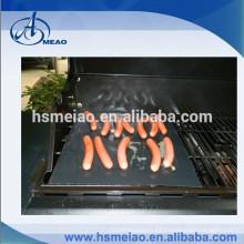 Popular fácil de limpiar PTFE barbacoa mat grill