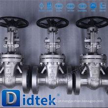 Didtek OS & Y Rising Stem Flange End Gate Valve Com Desenho