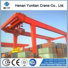 Grúa de pórtico RMG de contenedores de 45 toneladas para proyectos tiernos